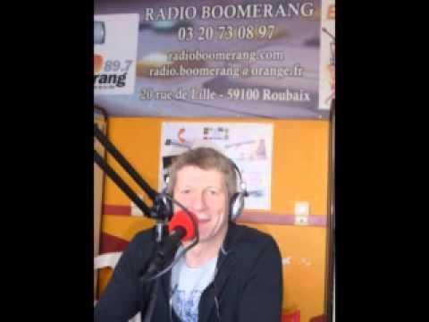 Interview d'ALAIN LE CHANTEUR sur RADIO BOOMERANG