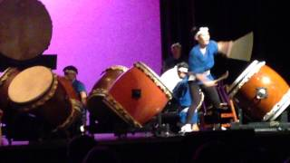 Makoto Taiko Concert at Occidental College, Los Angeles, California, USA, June 28, 2014