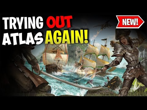 TRYING ATLAS AGAIN! - ATLAS  PVP GAMEPLAY - Ep.5