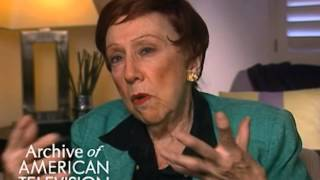 "Jean Stapleton discusses Mike and Gloria on ""All in the Family"" - EMMYTVLEGENDS.ORG"