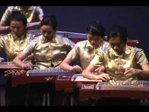 Guzheng Ensemble - Old Folks at Home; 故鄉的親人 (古箏)