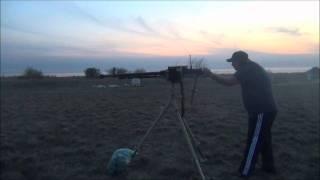 Russian Dshk Heavy Machine Gun
