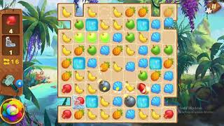 Tropical Forest Match 3 Story Level 73