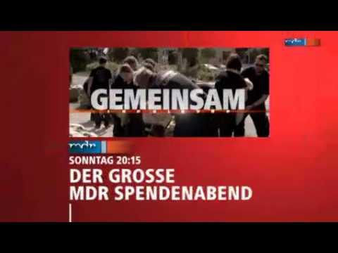 """""""Gemeinsam gegen die Flut"""" - Der große MDR-Spendenabend live im MDR FERNSEHEN"""