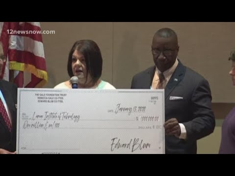 $1M donation to Lamar Institute of Technology will fund annual scholarships