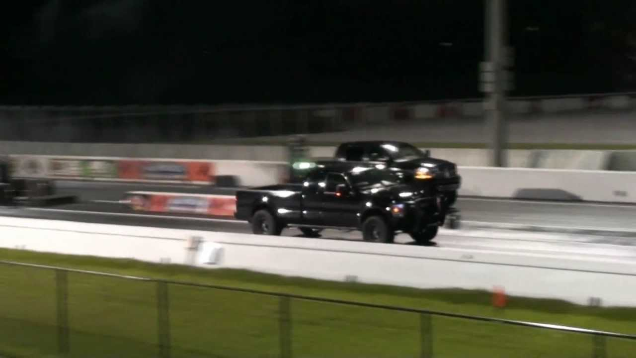 Ford F250 Power Stroke Vs Dodge Ram Cummins Diesel Truck