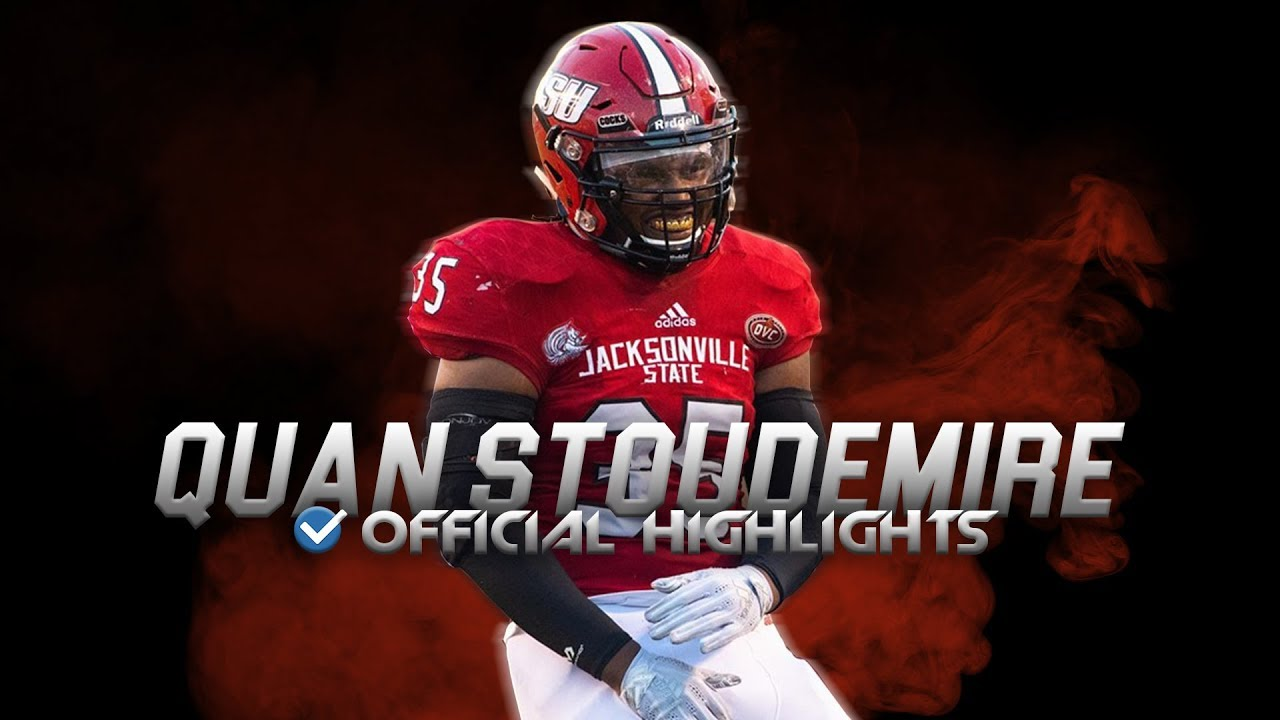 Quan Stoudemire Official Jacksonville State Highlights - 2019 NFL Draft ᴴᴰ