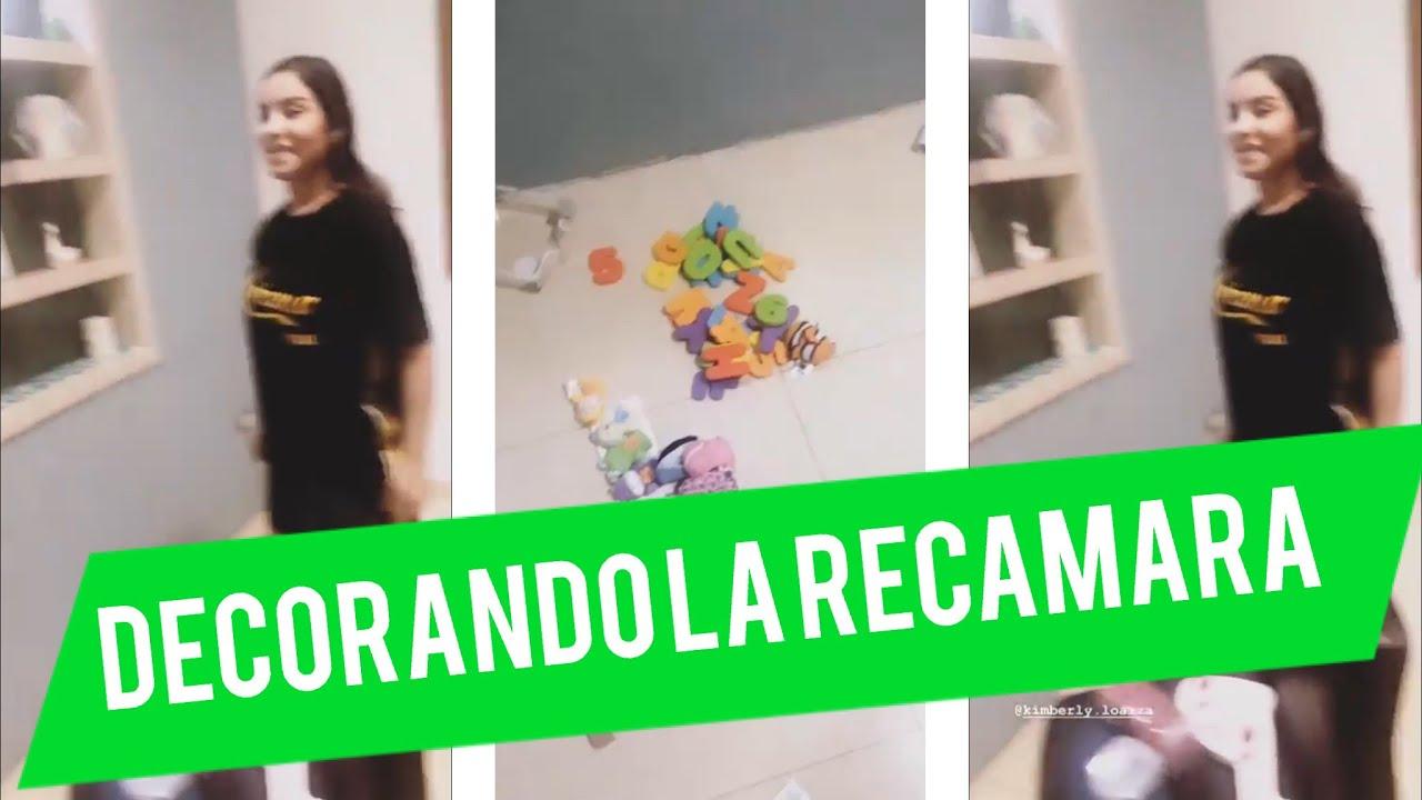 Decoran recamara del bebe Kimberly Loaiza y Juan De Dios Pantoja