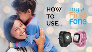 How to use myFirst Fone?