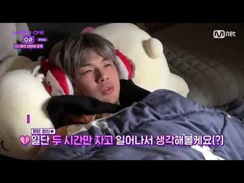 [ENG SUB] SLEEPING BEAUTY KANG DANIEL  ~WANNA ONE GO ZERO BASE EP 6 CUT ~