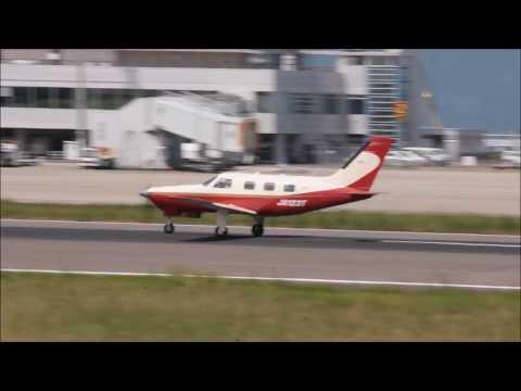 JA123T Piper PA-46-350P Malibu Mirage Taxi to RWY26 T-2 & T/O RJOT