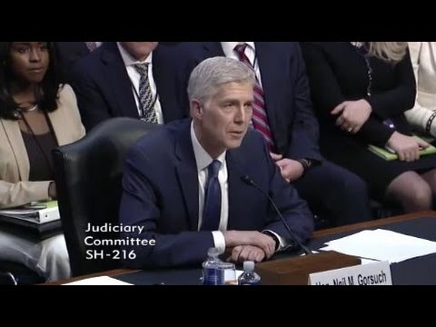 2017 03 20 US Trump SCOTUS Nominee Gorsuch Confirmation Hearing, Day 1 FULL