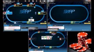 Poker4fun 6.08.15 Live session NL30 6max SNAP POKER