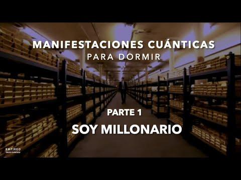 """MANIFESTACIONES CUÁNTICAS PARA DORMIR - Parte 1 """"SOY MILLONARIO"""" (8 Horas)"""