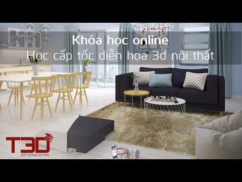 giá diễn họa 3d nội thất