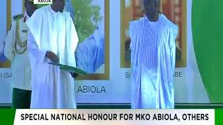 June 12: MKO Abiola's Investiture as GCFR
