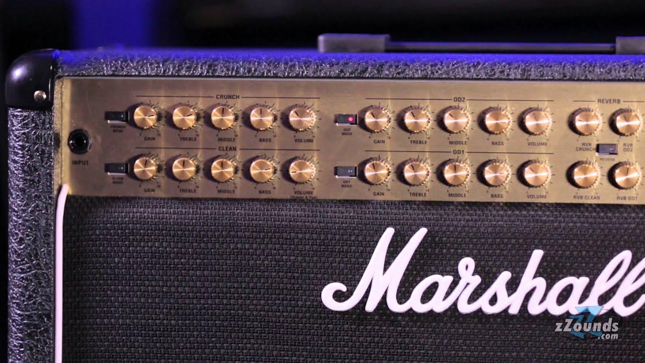 marshall jvm410c guitar combo amplifier youtube. Black Bedroom Furniture Sets. Home Design Ideas