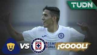 ¡Qué Doblete! Reyes le da la vuelta al marcador | Pumas 1 - 1 Cruz Azul | Copa por México | TUDN