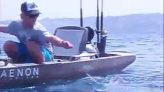 Hobie Mirage Pro Angler Kayak FIshing For Thresher Sharks