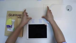 OMOTON 02 Tempered Glass Screen Protector Installation for Tablets