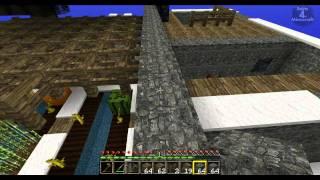 Let's play Minecraft - SkyBlock (2.1) - #13 - Farm fertig [GERMAN/Deutsch] [HD]