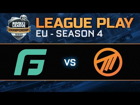 GALE FORCE ESPORTS vs METHOD EU League Play - RLCS S4
