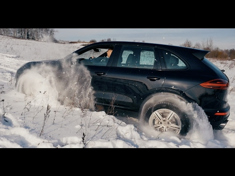 Тест драйв PORSCHE CAYENNE 2017.БЕНЗИН против ДИЗЕЛЯ.Platinum edition