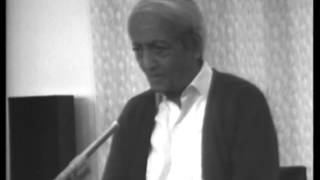 J. Krishnamurti - Brockwood Park 1978 - Seminar 3 - Can you face the fact that you are absolutely...