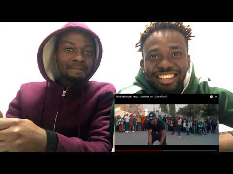 Abou Debeing Ft Dadju - C'est Pas Bon ( Clip officiel ) Reaction!!!
