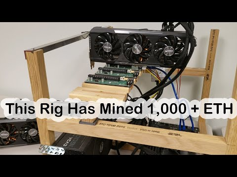This Crypto Mining Rig Has Mined 1,000 + ETH