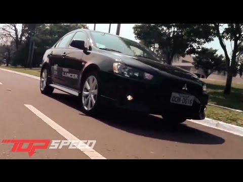 Avaliação Mitsubishi Lancer CVT | Canal Top Speed