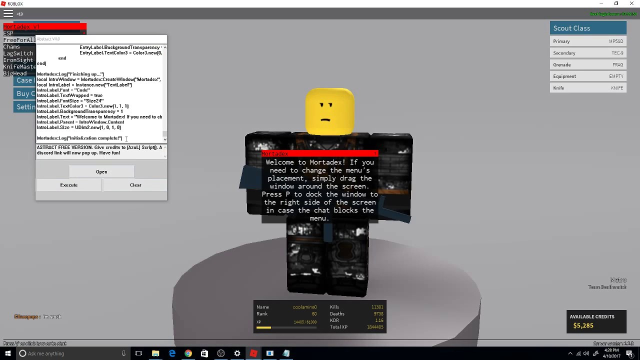 Roblox phantom forces hack credits roblox login