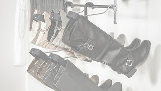 Boot Butler Boot Storage Rack, Boot Organizer & Boot Shaper (patent-pending)
