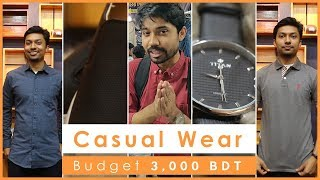 3 Casual Sets in 3,000tk | University Casual Dress | Men's Budget Shopping