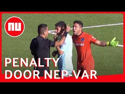 Boliviaanse Scheidsrechter Veinst Contact Met VAR Bij Geven Penalty | NU.nl