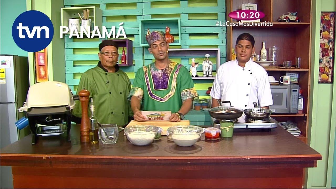 Receta Pulpo Guisado Arroz Con Coco Y Ensalada Verde Youtube