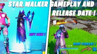 Fortnite - Leaked Star Walker Skin Gameplay, Pickaxe Price & Release Date | Season 10