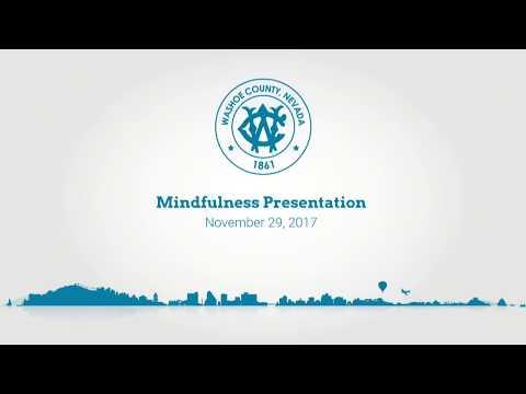 Washoe County Mindfulness Presentation | November 29, 2017