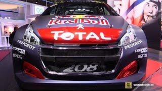 2018 Peugeot 208 WRC Sebastien Loeb -- Walkaround - 2018 Paris Motor Show