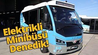 Elektrikli minibüs Karsan Jest Electric ile piste çıktık! vLog