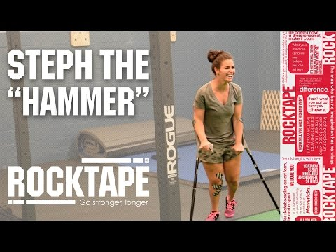 "Rocktape - An Experience Worth Every Minute - A Session with Steph ""The Hammer"""