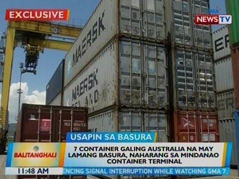 BT: 7 container galing Australia na may lamang basura, naharang sa Mindanao Container Terminal