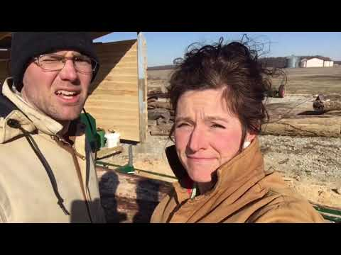 Man & Wife BESTED by 1000 LB Log... Or Are They? | Front Porch Catholic | Vlog