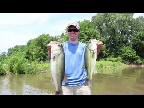 Arkansas River Bass Fishing - Ryan's New PB