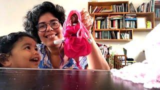 Criação de bonecos artísticos - com Simone Barreto