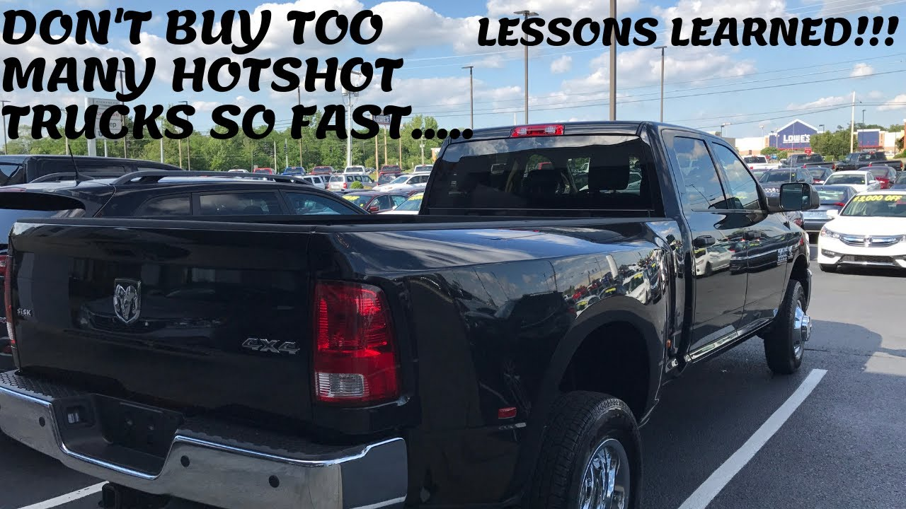 TRUCKING BUSINESS: LESSON LEARNED- I BOUGHT TOO MANY TRUCKS TOO FAST! KEEP  YOUR FLEET SMALL!!!