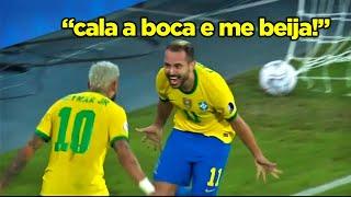EVERTON RIBEIRO, O LIONEL MESSI BRASILEIRO!! EVERTON RIBEIRO JOGOU DE TERNO CONTRA O PERU!!
