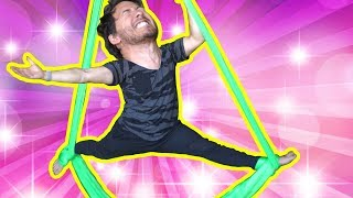 How to Aerial Silk Dance