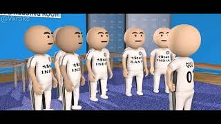 Goli Vs Rooot || Cricket Funny Video ||Animation Cartoon