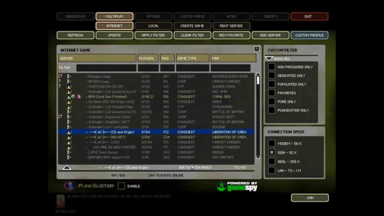 invalid cd key battlefield 1942